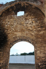 Феодосия. Вид Доковой башни внутри