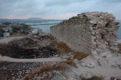 Стены Айоц Берд - Армянская крепость Феодосии