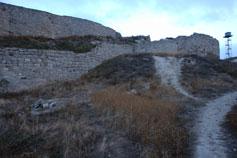 Феодосия. Останки крепостных стен на Карантином холме