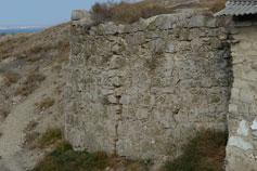 Феодосия. Руины крепости