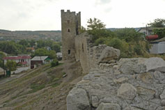 Феодосия. Крепость башня Криско