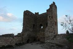 Крепость в Феодосии. Башня Климента VI