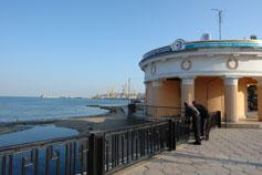 Феодосия, набережная, порт, маяк