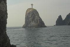 Море берег Крыма Фиолент