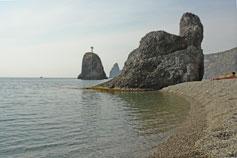 Дикий пляж Фиолент