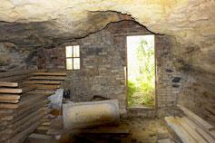 Пещерная келья Свято Георгиевского монастыря