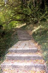 Лестница здоровья на мысе Феолент