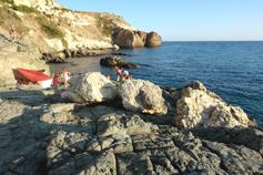 Мыс Фиолент. Пляж возле маяка
