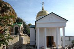 Свято Георгиевский храм на мысе Фиолент