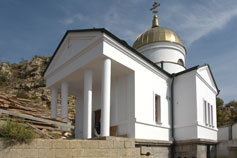 Строительство Георгиевского храма на Фиоленте