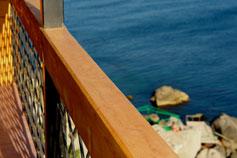Форос, вид с балкона гостиницы Прибрежный Двор