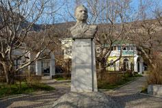 Форос. Памятник Юрию Гагарину