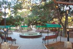 Форос. Городской парк