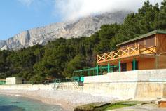 Форос. Пляж санатория Форос
