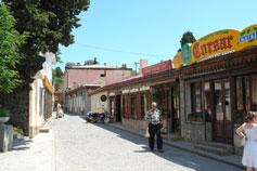 Курортный поселок на ЮБК Гурзуф