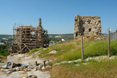 Реставрация крепости Каламита