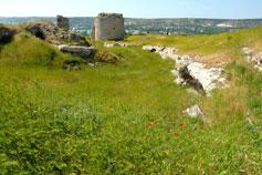 Инкерман. Руины крепости Каламиты