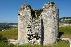 Инкерман. Башня крепости Каламита