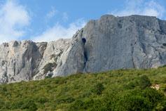 Оползневое, скалы