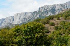 Горы над Кацивели