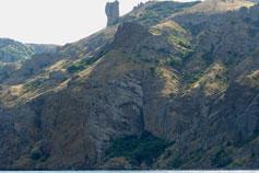 Вулканический некк Чертов Палец (Шайтан-Кая)
