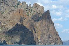 Крым. Карадаг - Хоба-Тепе (Пещерная гора)