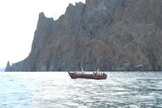 Крым. Морские прогулки вдоль Карадага