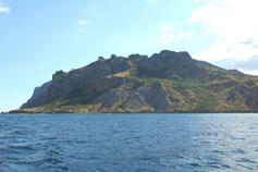 Крым. Планерское - фото Карадага