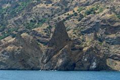 Кара-Дага бухта Разбойничья (Харсыз-Лиман)