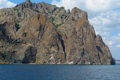 Крым. Потухший вулкан Карадаг
