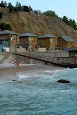 Береговое коттеджи на пляже в аренду