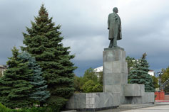 Керчь. Памятник Ленина на центральной площади