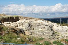 Керчь. Археологические раскопки на вершине горы Митридат