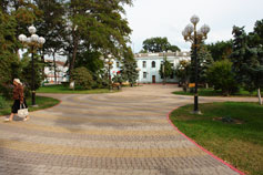 Керчь. Сквер на площади Ленина