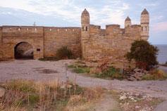 Керчь. Крепость Ени-Кале. Дорога в порт Крым