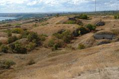 Крепость Керчь. Вал центрального казематированного укрепления