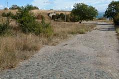 Крепость Керчь. Мощеная дорога на валы Ак-Бурунских укреплений