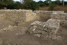 Тиритака. Крепостная стена