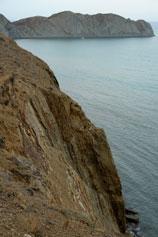 Коктебель. Берег над Мертвой бухтой
