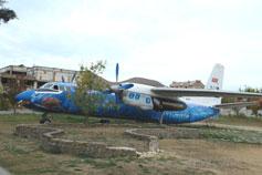 Коктебель. Самолет на детской площадки