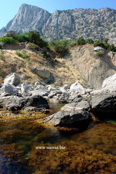 Крым. Батилиман. Фото Ласпи с моря