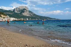Пляж бухты Ласпи