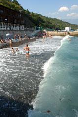 Ливадия. Море, пляж