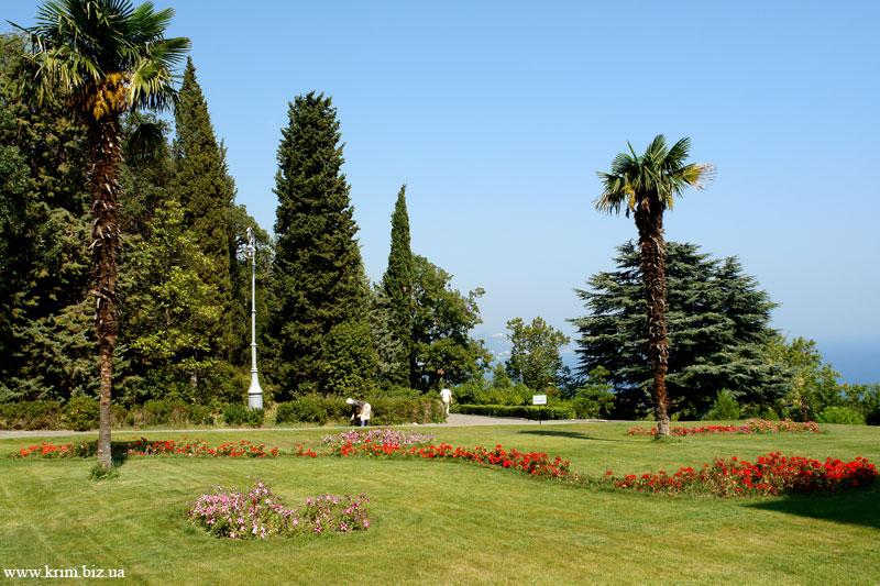 Ливадийский дворец. Парк..