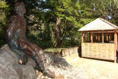 Парк Мисхора, памятник Горькому