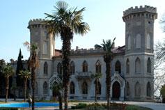 Гаспра замок графини Паниной (Ясная Поляна)