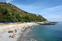 Посёлок Никита. Пляж