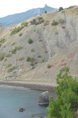 Пляж в Кутлакской бухте