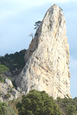 Утес горы Караул-Оба