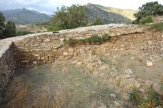 Крепостная стена Кутлакской крепости
